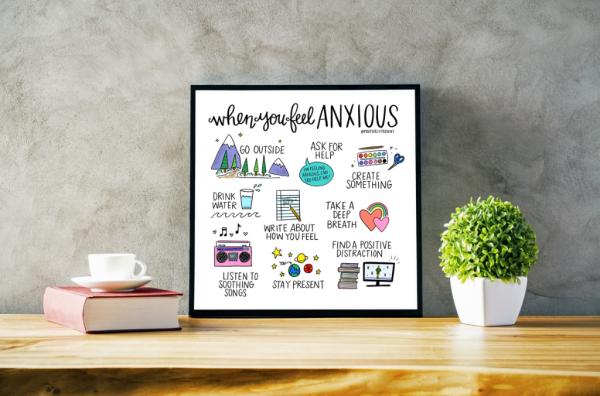 Anxious Print