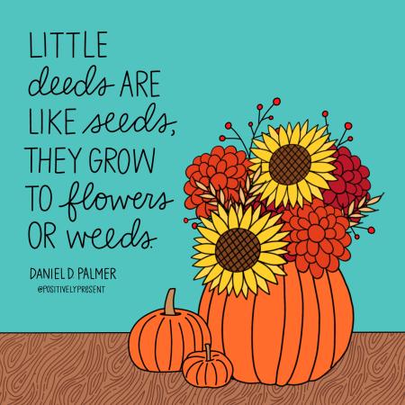 Positively Present - Little Deeds