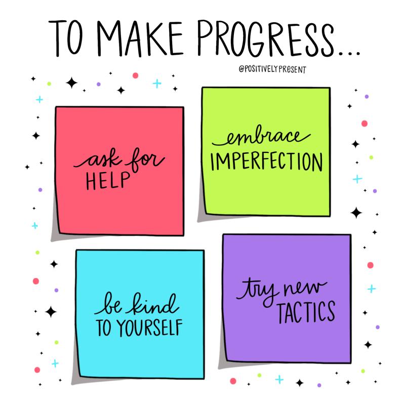 Positively-Present-Progress
