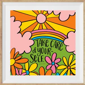 Take Care Print