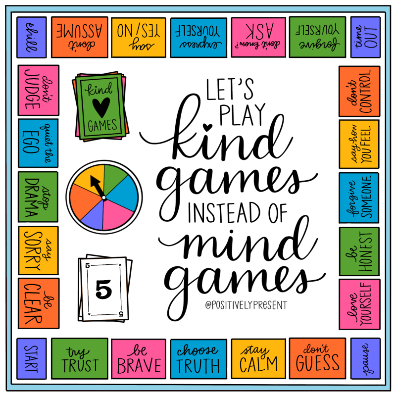 Positively Present - Kind Games