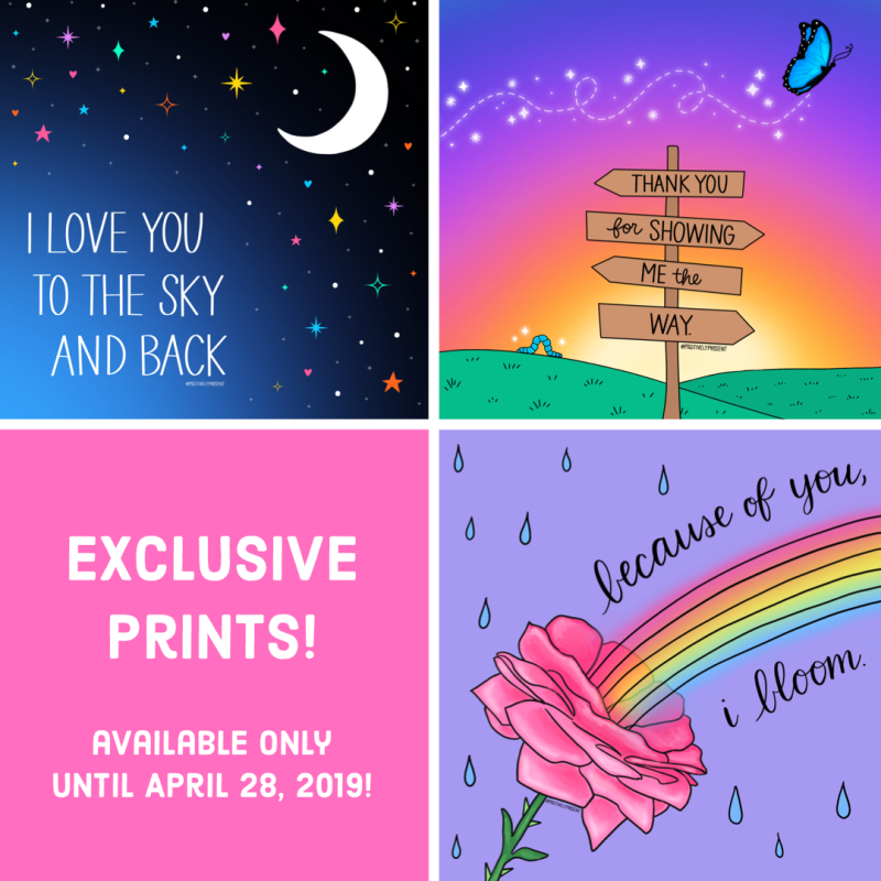2019 Mothers Day Prints - Positively Present