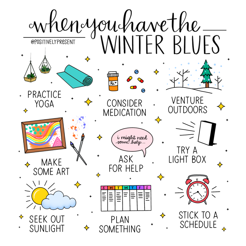 Positively Present - Winter Blues