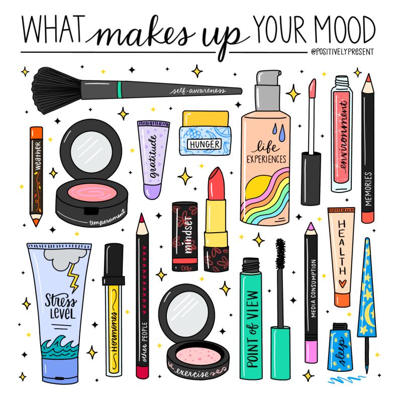 Positively Present - Makeup Mood