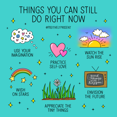 Positively Present - Things You Can Still Do