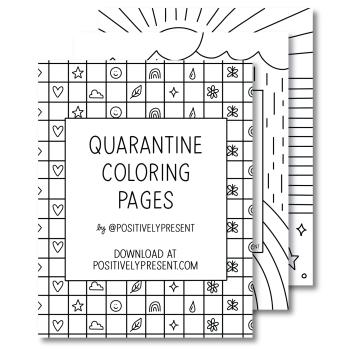 Quarantine Coloring