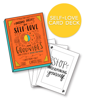 Self-Love Card Deck